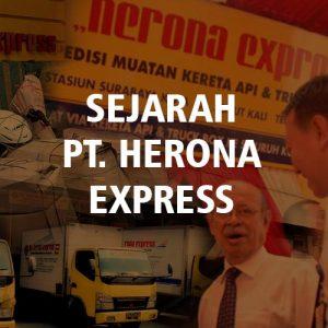 Sejarah Herona Express, Rekam Jejak Kereta Api dan Logistik
